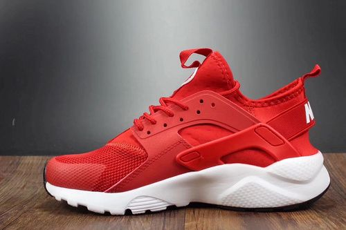 outlet store ce520 e5bd3 Company goods Huarache 4 4th Nike Air Huarache Run Ultra Red and White  819685-601 Over Tiger Flute Forum-8112208 Whatsapp 86 17097508495