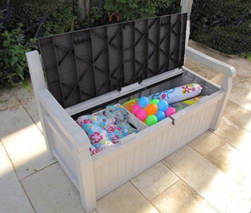 Garden Storage Bench Keter Eden Outdoor Plastic Waterproof Box Tools Furniture View More On The L Outdoor Toy Storage Outdoor Storage Bench Outdoor Storage