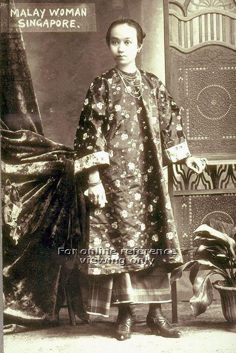 Studio Photograph Of A Malay Woman Singapore Photographer
