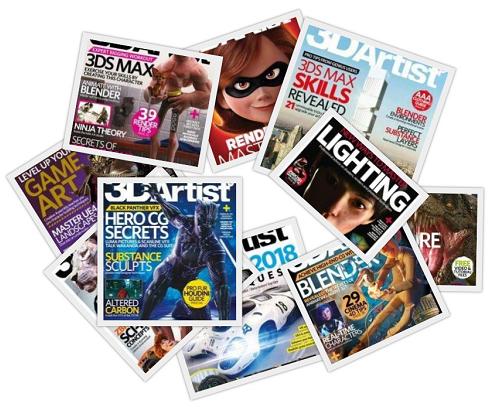 Free Download 3d Artist Magazine 2018 Full Year Issues Collection 3d Artist Artist Art