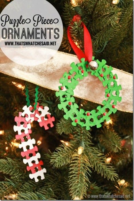 40 DIY Homemade Christmas Ornaments To Decorate the Tree Homemade