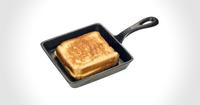 Cast Iron Sandwich Skillet - $12