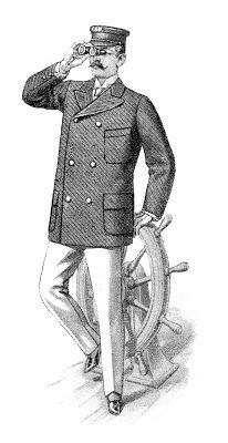 Antique Men S Fashon Seaside Outing Suit The Graphics Fairy Victorian Mens Fashion Victorian Men Graphics Fairy