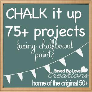 Chalkboard paint projects on pinterest chalkboard paint for Chalkboard paint surface ideas
