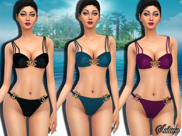 7223a3e477 The Sims Resource  Angel swim by Saliwa • Sims 4 Downloads