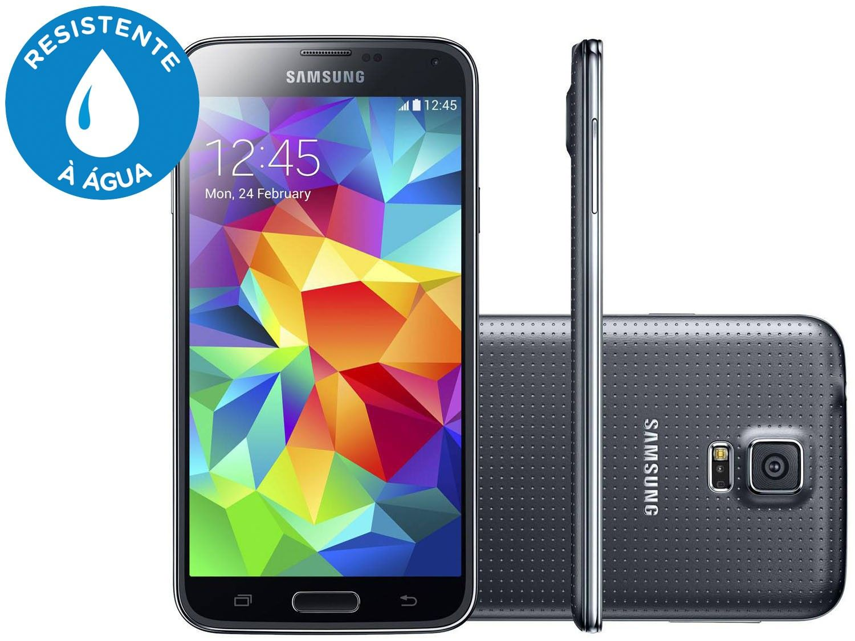 Conheça o Galaxy S5 Samsung galaxy s5, Quad e Smartphone