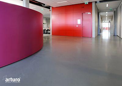 Gietvloer Den Bosch : Helicon opleidingen nieuwbouw school den bosch systeem: arturo