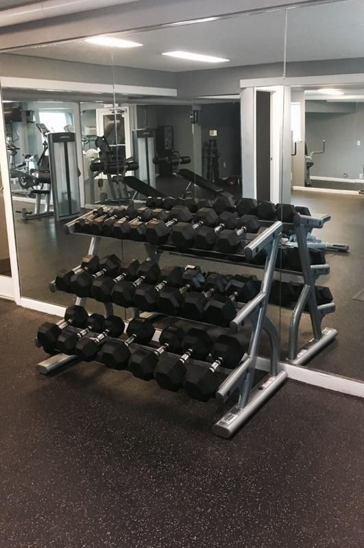 We Make It Easy To Motivate Yourself To Workout Check Out Our Fitness Center Today 413 240 2189 Http Www Bouldersapartme Home Gym Storage Spaces Apartment