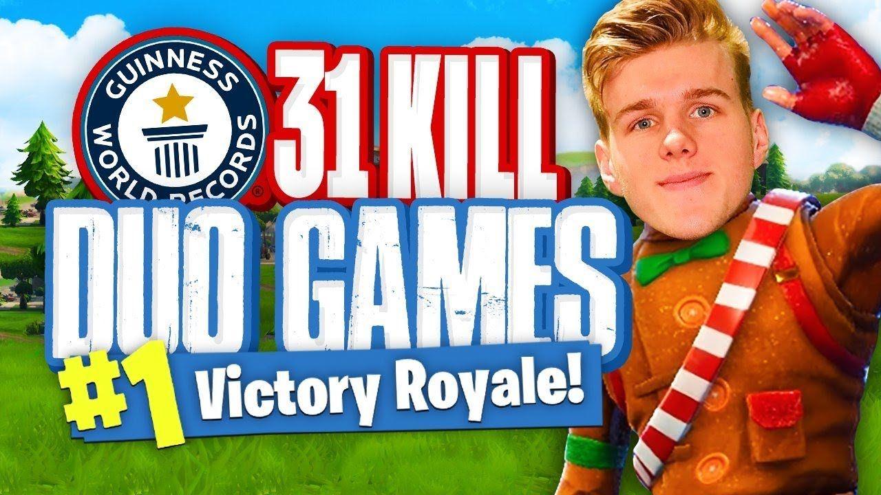 Worlds Most Kills In Duos 31 Kills Fortnite Battle Royale