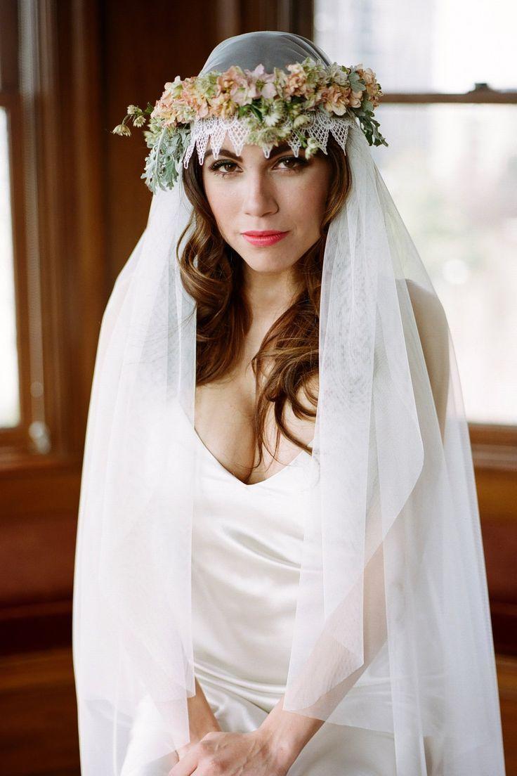 30 Radiant Wedding Hairstyles   Weddings, Wedding and Veil