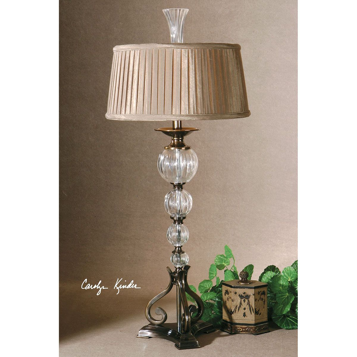 Uttermost narava crystal table lamp 26680 uttermost pinterest uttermost narava crystal table lamp 26680 geotapseo Images