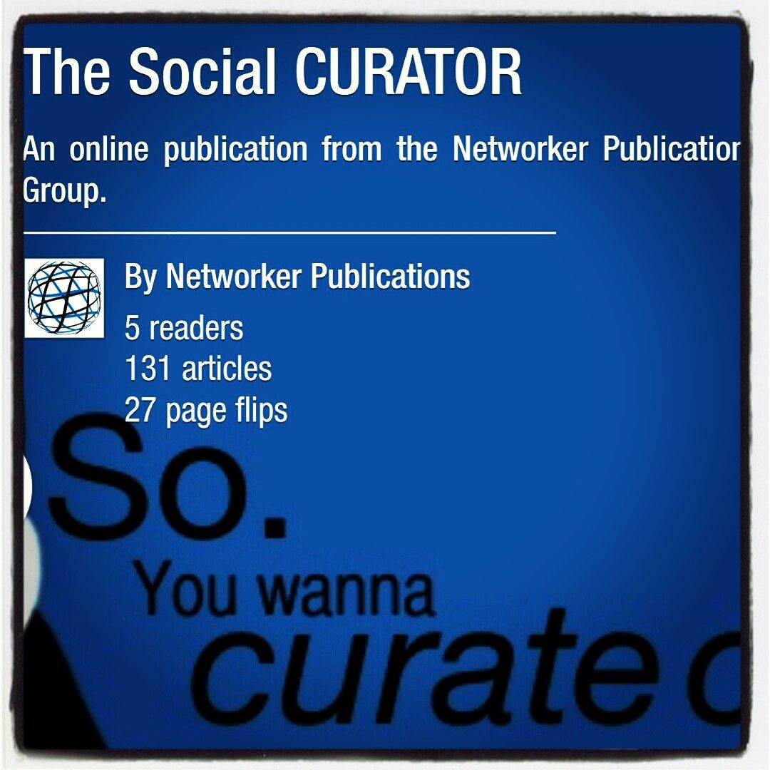 A curated collection of Top social media tools applications and websites. An online publication from the Networker Publications Group.