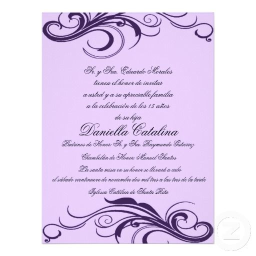 Cherry Blossom Quinceanera Invitation (pink) | Quinceanera, Quince ...