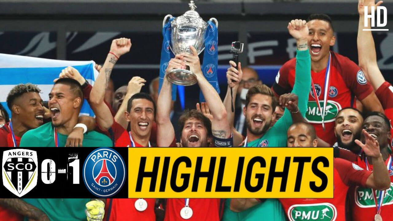 VIDEO Angers 01 PSG Highlights TODAY FOOTLIGHTS