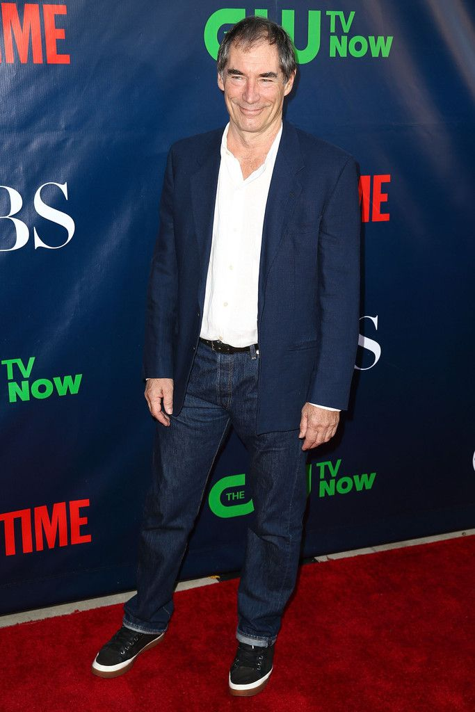 Actor Timothy Dalton attends the CBS, The CW, Showtime & CBS Television Distribution's 2014 TCA Summer Press Tour Party at Pacific Design Centre on July 17, 2014 in West Hollywood, California.