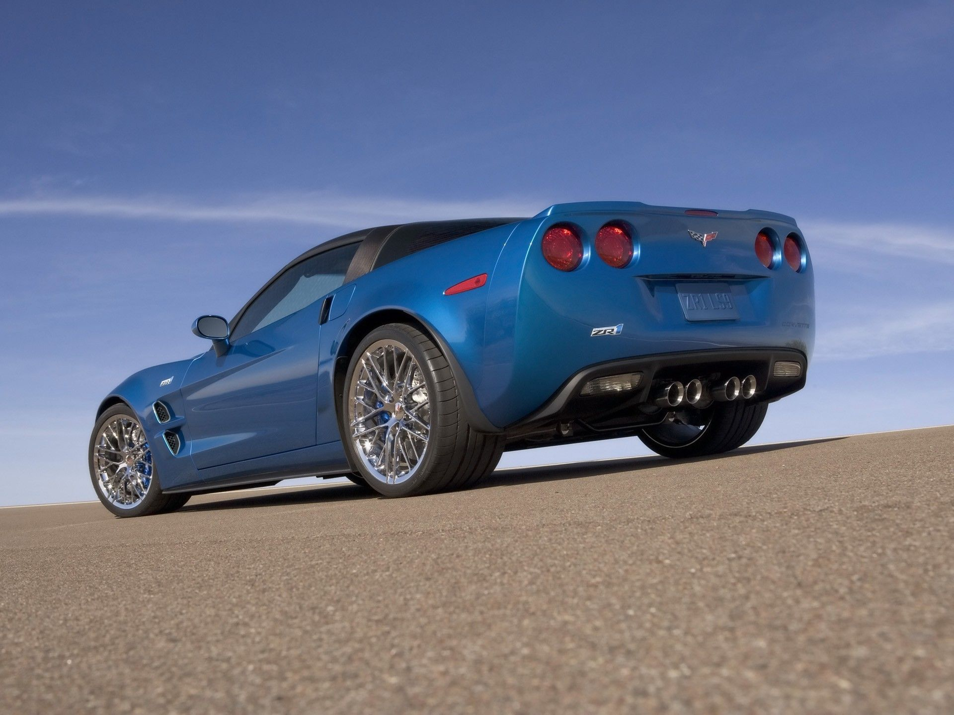 Chevrolet Corvette Zr1 Blue Cars 1920x1440 Corvette Zr1 Blue