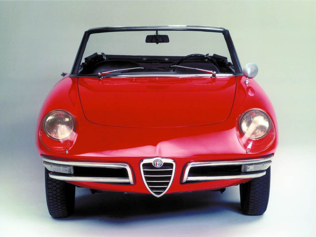 alfa romeo spider 1966 another one for the movie fans this is the red car dustin hoffman. Black Bedroom Furniture Sets. Home Design Ideas