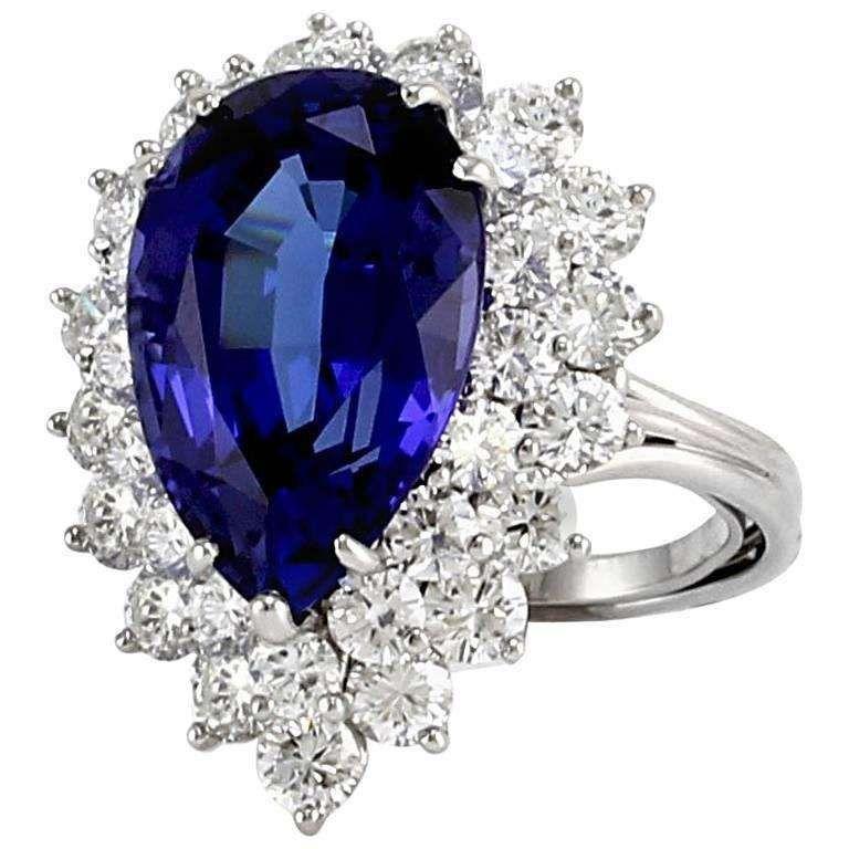tanzanite engagement rings tiffany - 736×736
