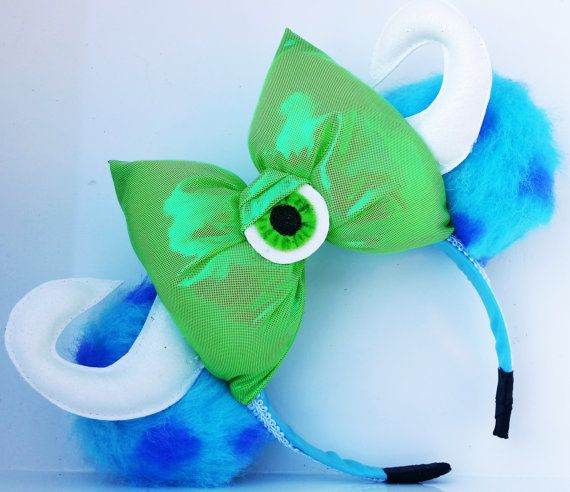 Hey, I found this really awesome Etsy listing at https://www.etsy.com/listing/234516820/minnie-ears-monsters-inc-ears-mike-and