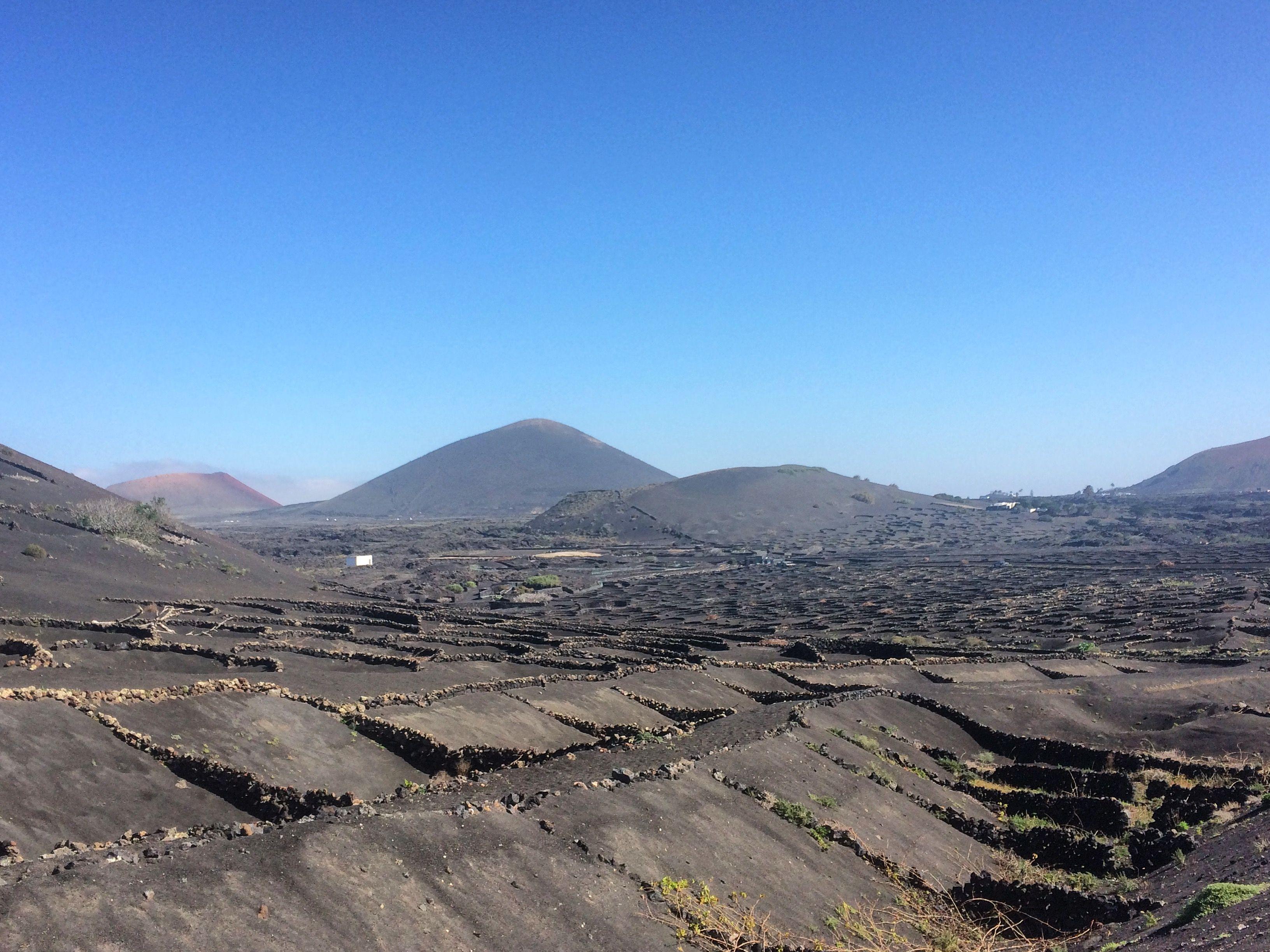 La Geria, Lanzarote, Canary Islands.