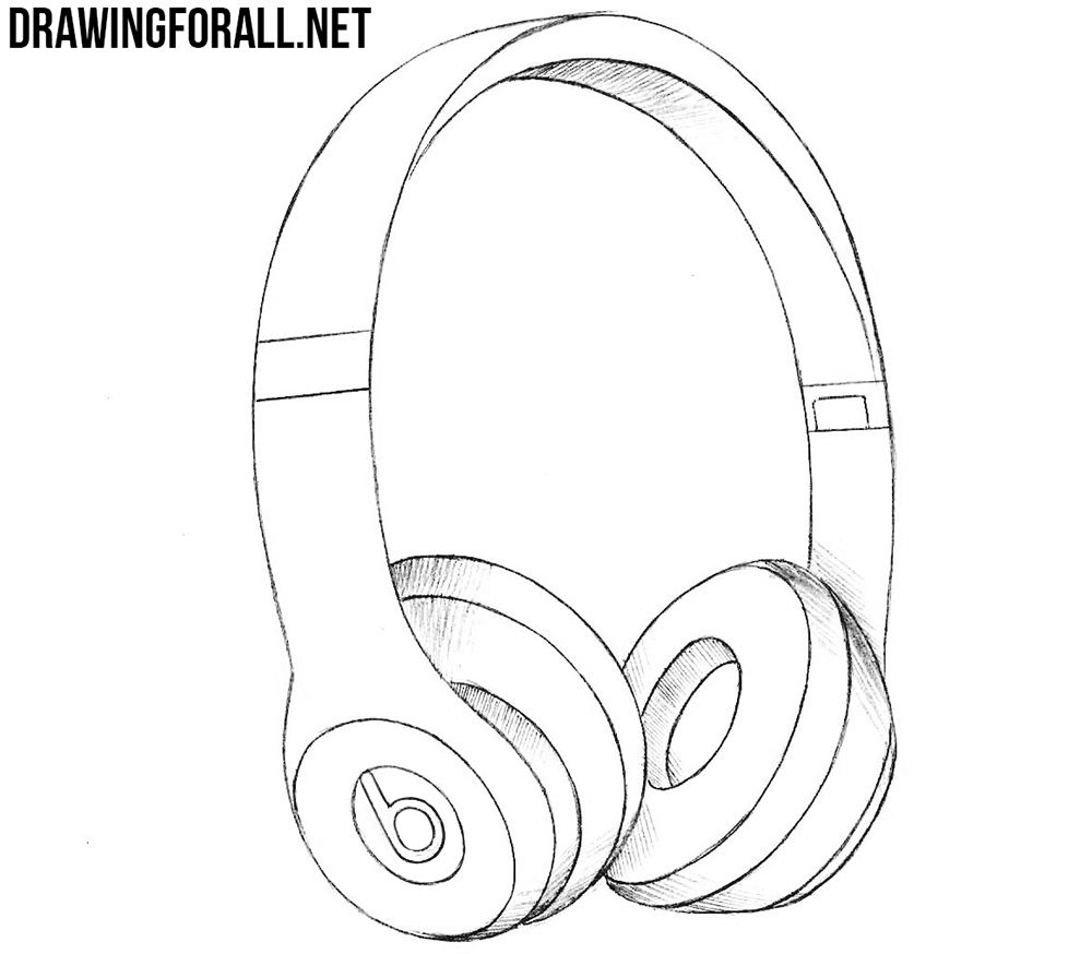 Image Result For How To Draw Headphones Headphones Art Headphones Drawing Music Drawings