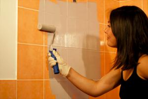 Les 25 meilleures id es de la cat gorie peinture faience for Peinture sur faience douche