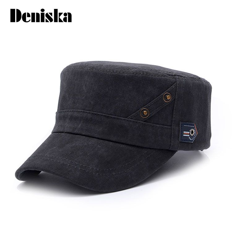 29f3a723f4a 2017 new high quality Washed Cotton Snapback Caps Vintage Army Hat Cadet  Tactical Military Cap Adjustable Gorras Unisex Hats