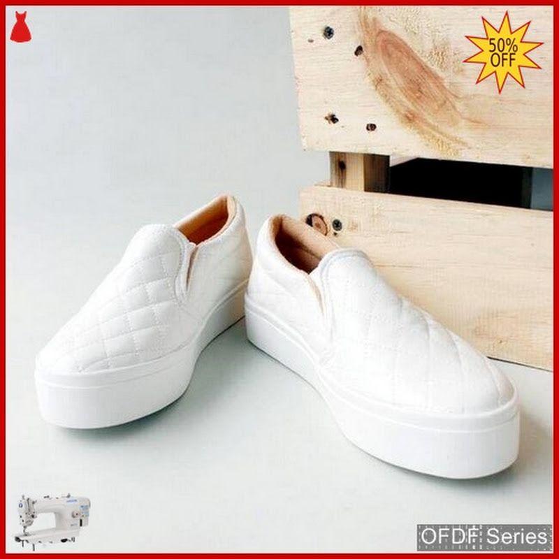 Ofdf150 Sepatu Slip On Cantik Wanita Poxing Sepatu Kets Sepatu