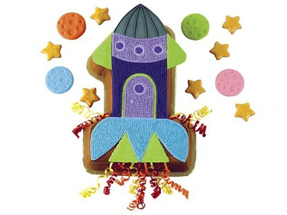 All Systems Go Cute Rocket Ship Cake For Jonathan S Party Birthday Cake Kids Easy Kids Birthday Cakes Rocket Cake