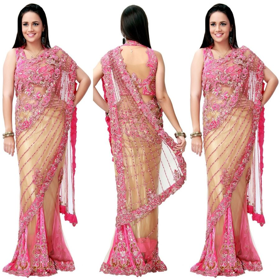 Latest saree blouse design neck - Blouse Neck Designs For Designer Sarees Collection 2014 Latest Fashion Ladies Fashion Mens Fashion And Style Guide