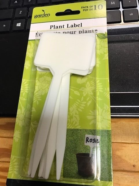 Plastic Plant T Type Tags Markers 10 Pc 5 2 X 2 25 Nursery