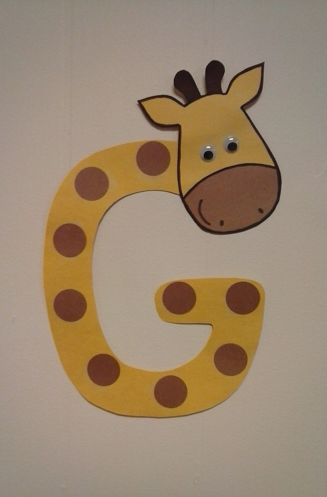 Preschool Letter G G Is For Giraffe