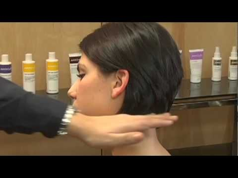 How to Cut and style a square-shaped classic layered bob