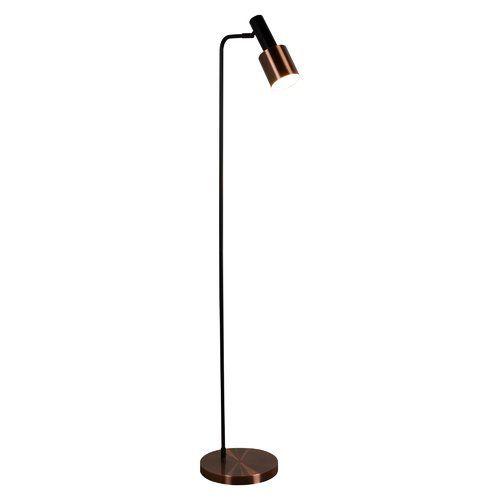 147cm Reading Floor Lamp Searchlight Finish Antique Copper Black Copper Floor Lamp Floor Lamp Contemporary Floor Lamps