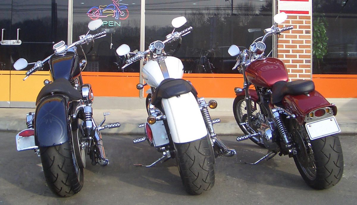 WIDE TIRE KIT - HARLEY SPORTSTER FAT TIRE KITS | Bikes I