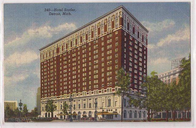 [Othistory] All'inizio degli anni '30 negli Stati Uniti 4 hotel su 5 sono in amministrazione controllata, la commissione media degli agenti di viaggio è del 10%. Nel '33 si registra la più bassa occupazione media (51%), l'average room rate è di $ 5,60. L'Hotel Statler di Detroit (immagine) nel '34 è il primo hotel ad avere un impianto di aria condizionata centralizzato per tutte le camere.