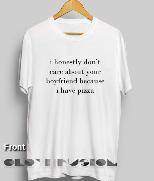 e1e752eb23 Quote On T Shirt I Honestly Don't Care Men's Women's sale & outlet t-shirts