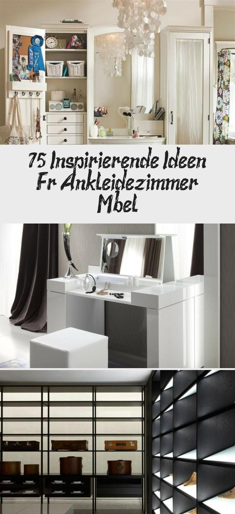 75 Inspirierende Ideen Fur Ankleidezimmer Mobel In 2020 Home Decor Decor Furniture