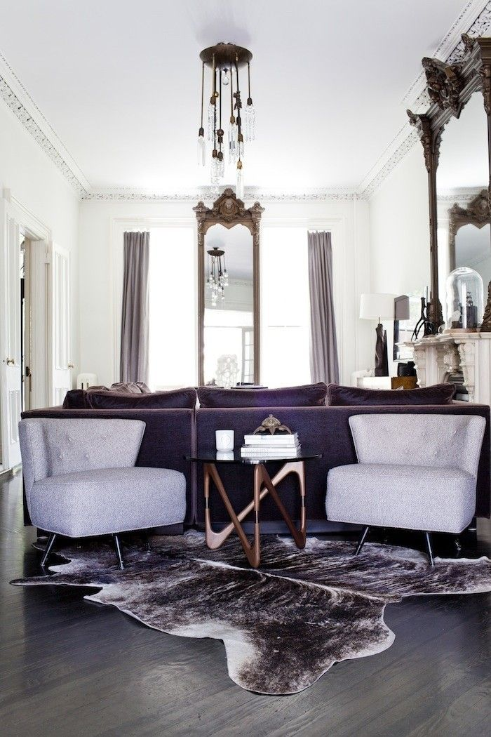 This chic 5941 square foot home in minnesota is making our - Brooklyn apartment interior design ...