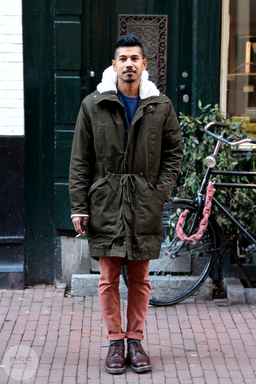 Streetstyle from Amsterdam, by Rasa Stankeviciute of FASHIONPOPULATION