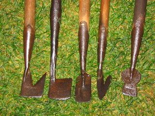 Antique UK Gardening Tools For Sale