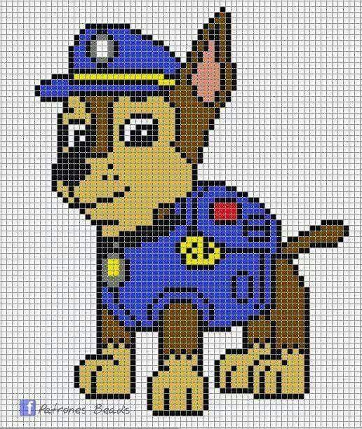 Pin von Luz Carvajal auf patrulla canina | Pinterest | Bügelperlen ...