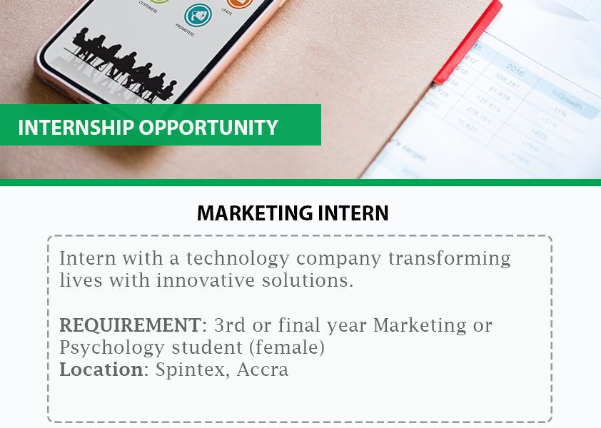 Internship Opportunity Intern With A Technology Company This