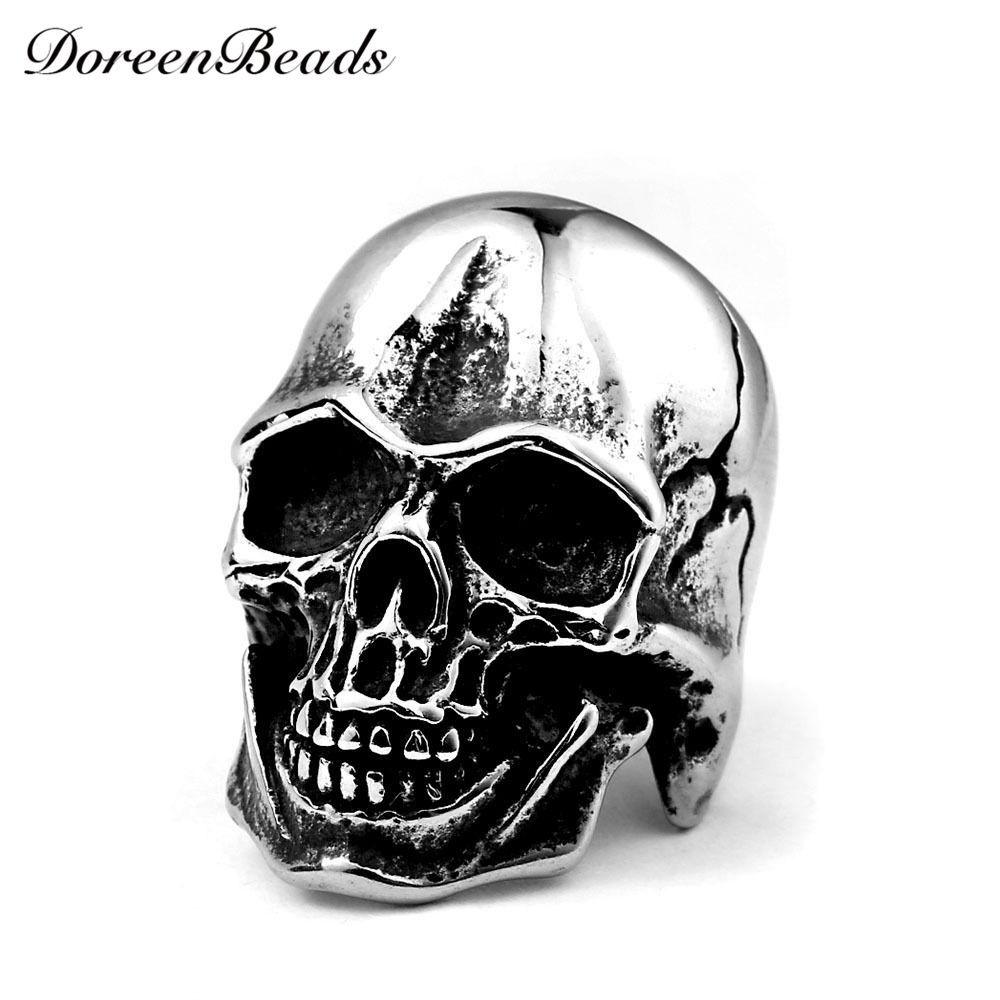 skull and ii war mens ffj skeleton rings helmet p ssr htm army crossbones world band steel ring stainless