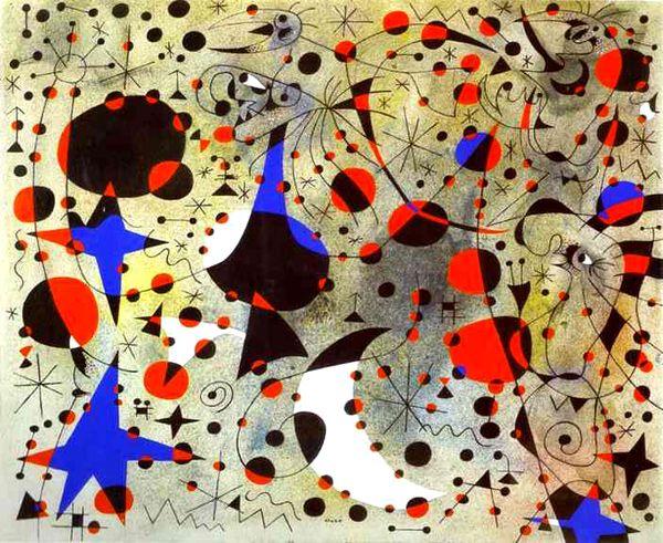 Joan Miró Caos Joan Miró Cuadros De Miro Joan Miró Para Niños