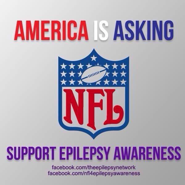 """I'm sorry but Breast Cancer Awareness gets so much attention from all over. Those of us with epilepsy still get the """"stay away, it's contagious"""" look and people don't know what to do with seizures."""