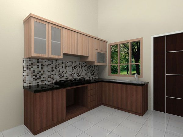 Harga kitchen set minimalis murah toko furniture online for Harga kitchen set aluminium minimalis