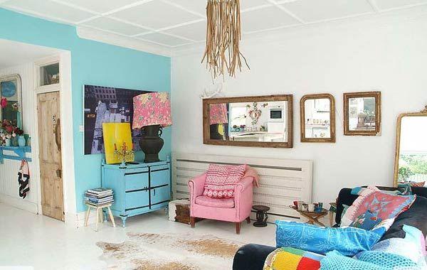 Casa Con Decoracion Eclectica Y Vintage Estilos De Diseno De