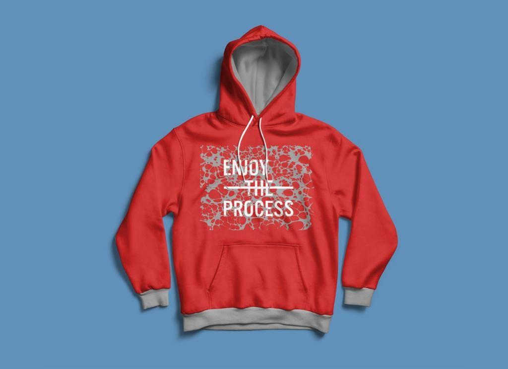 Download Full Sleeves Hoodie T Shirt Free Mockup Hoodies Free Shirts Hoodie Mockup