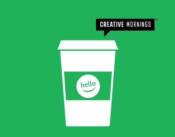 CreativeMornings is a monthly breakfast lecture series for creative types. Each event is free of charge, and includes a 20 minute talk, plus coffee!